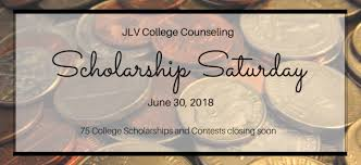 Scholarship Saturday June 30 2018 Jlv College Counseling Page 3