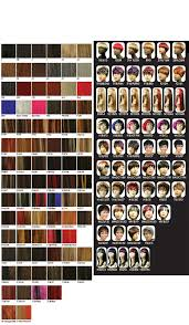 Hair Color Chart Hair Extensions Color Choise Wig Colors