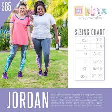 Lularoe Jordan Size Chart With Prices Lularoe Sizing