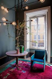 Chinese Art Interior Design Chinese Art Deco Rug Among Modernist Furnishings Salone