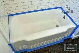 resurface shower pan bathtub refinishing plastic