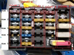 add circuit to fuse panel taurus car club of america ford 90s fuse front medium jpg