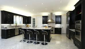 black cabinets white countertops kitchen mosaic tiles for kitchen black lacquered