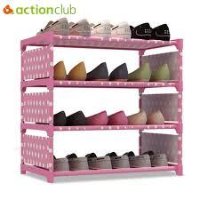 woven metal furniture. Actionclub Non-woven Metal Shoe Rack Four Layers Multi-purpose Cabinet Books Shelves Woven Furniture S