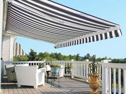 patio awning side panels control sun and shade with a retractable awning for your backyard or