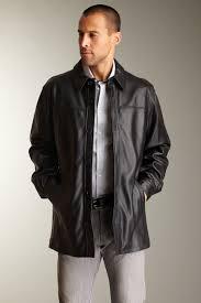 image of jones new york carlo leather sport coat