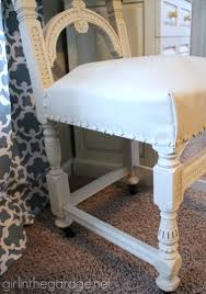 painted leather chair makeover with annie sloan chalk paint girlinthegarage net
