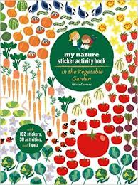 my nature sticker activity book ages 5