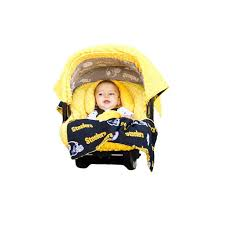 pittsburgh steelers car seat caboodle