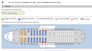 A319 Seating Chart United A319 Seat Map Seat Map Us Airways Airbus A319
