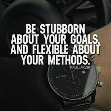 adil laresh be stubborn about your goals and flexible about be stubborn about your goals and flexible about your methods like and comment if