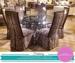 furnitureland south marge carson seville pedestal dining table caldwell