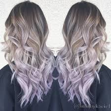 Ombré With Lilac Ends
