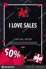 Valentines Flyers Valentines Day Sale Poster And Background Wallpaper Flyers