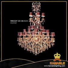 china luxury 5 star hotel large brass crystal chandelier pendant lighting wd1137 15 10 5 5 china chandeliers chandelier lamps