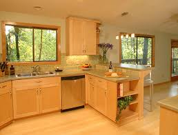 Small Picture Light Maple Kitchen Cabinets Light maple cabinets photo below