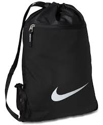 lyst nike team gymsack bag in black for men