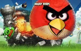 Angry Birds Iphone Game - Wallpaper, High Definition, High Quality ... | Angry  bird pictures, Birds wallpaper hd, Angry birds