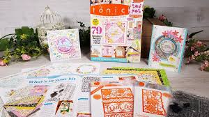 Tonic Studios Design Collection Magazine Tonic Introduces Tonic Studios Cardmaking Collection Issue 5