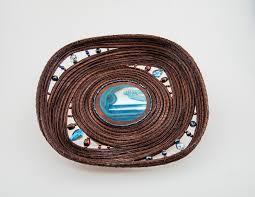 Art Pieces A Tisket Tasket Pineneedle Sweetgrass Art Pieces
