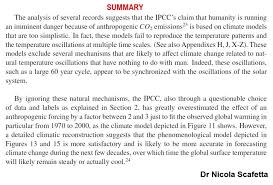 physics of climate change tells us why it s not carbon dioxide  see this summary and this paper
