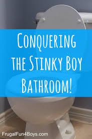 Getting Rid Of Boy Bathroom Stink Frugal Fun For Boys And Girls - Best bathroom odor eliminator
