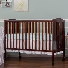 Dream On Me 2-in-1 Full Size Folding Crib - Espresso