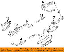 exhaust pipes & tips for pontiac grand am ebay grand am exhaust diagram at Grand Am Exhaust Diagram