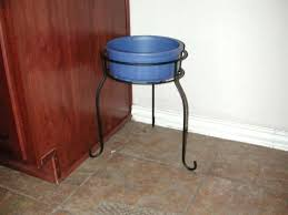 use a plant stand for dog bowl stands er than ing actual dog bowl wooden dog