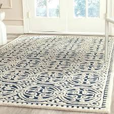 wool jute rug house of hand tufted wool navy ivory area rug inside rugs plans 7 wool jute rug chevron