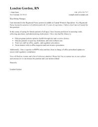 Nursing Cover Letter Template Free Registered Nurse Cover Letter Template Andone Brianstern Co