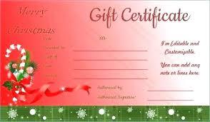 Free Gift Voucher Template For Word Christmas Gift Certificates Free Puebladigital Net