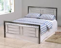Metal king bed frame and also king iron bed and also metal queen bed ...