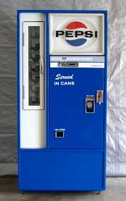 Small Pepsi Vending Machine Extraordinary Stock Can Machines Antique Refinishing Services