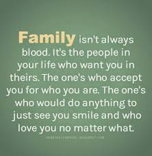 Family Isn T Always Blood Quotes Classy Family Isn't Always Blood Heartfelt Love And Life Quotes