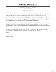 Unsolicited Cover Letter Sample Legal Assistant Cover Letter Sample