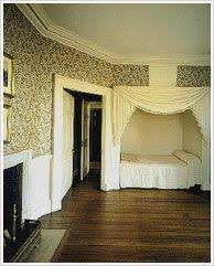 Nice North Octagonal Room « Thomas Jeffersonu0027s Monticello, Love The Bed Tucked  Into The Nook.