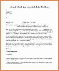 Thank You Letter For Scholarships Stunning Letter Of Appreciation ScholarshipThank You Letter To Scholarship