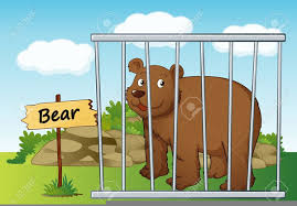 zoo animals in cages clipart. Plain Zoo Download This Image As In Zoo Animals Cages Clipart A