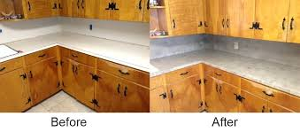 resurfacing kitchen countertops resurfacing with concrete exceptional how to resurface kitchen counter tops any interior design