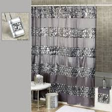 purple and silver shower curtain. Sinatra Sequined Silver Shower Curtain Purple Curtains And