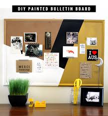 cork board ideas for office. DIY Painted Bulletin Board Tutorial // Bubby And Bean Cork Ideas For Office