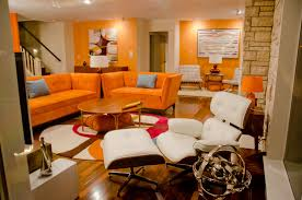 Orange Decorating For Living Room Orange Living Room Decor Nice Brown And Orange Living Room On