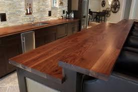 diy wood countertops kitchen bar counter wooden countertops for kitchens