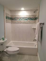 bathroom accent tile like large shower bathroom white tiles with blue accents bathroom ideas