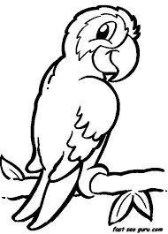 Small Picture Crafty Bird Animal Coloring Pages Jungle Safari Homepage Animal