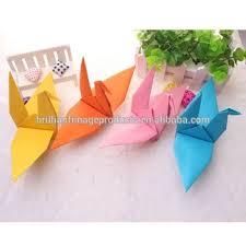 2018 Multicolored Small Japanese Origami Birds Buy Custom Paper