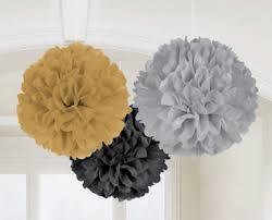How To Make Fluffy Decoration Balls Pom Pom Tissue Decorations Fluffy Decorations Honeycomb Just 60