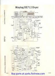 wiring diagrams and schematics appliantology tag de712 dryer wiring diagram and schematic