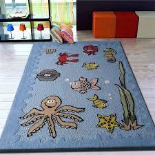 kid room area rugs boys aquarium blue bedroom kids area rug with sea animals